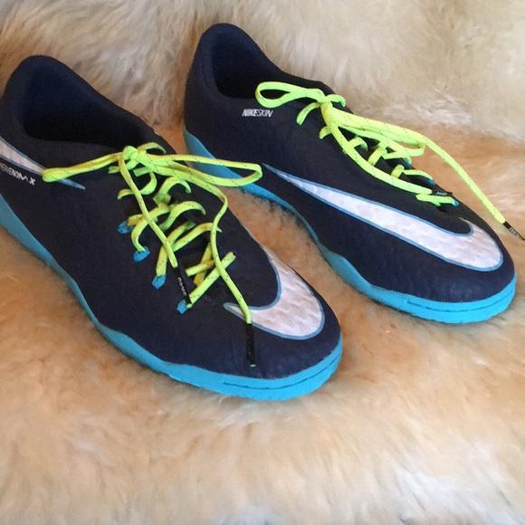 Nike Other - Nike Hypervenom X Indoor soccer shoes. Size 6